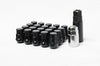 Wheel Mate Muteki SR35 Close End Lug Nuts w/ Lock Set 12x1.25 35mm