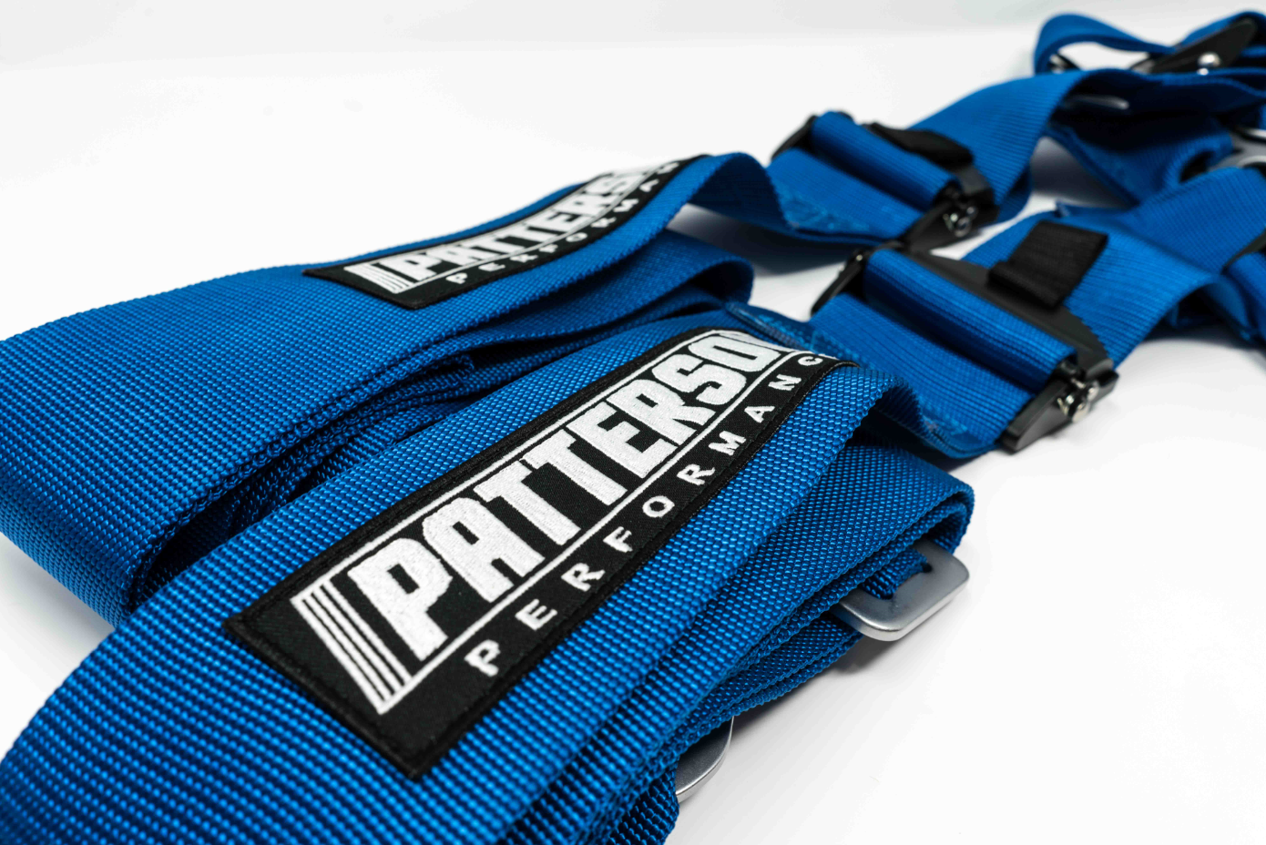 Patterson Performance 5 Point Cam Lock Racing Harness - Blue