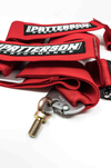 Patterson Performance 5 Point Cam Lock Racing Harness - Red