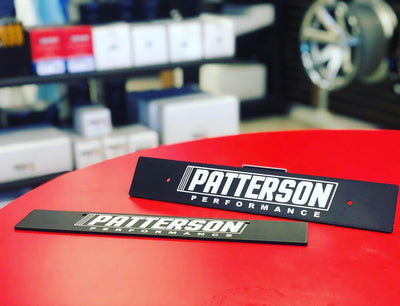 Patterson Performance License Plate Delete