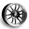 Cosmis Racing XT-206R Black w/ Machined Lip Wheel