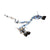 Invidia Gemini R400 Single Layer Cat Back Exhaust w/ Black Tips- 2015+ Subaru Wrx/Sti