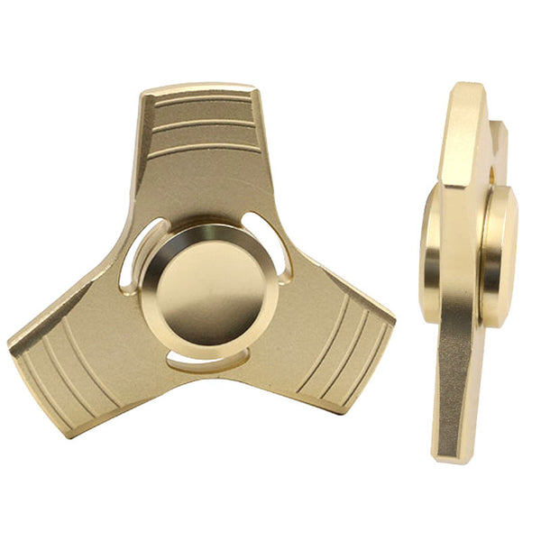 Tri-Spinner Aluminum Alloy Fidget Spinner (5 colors available)