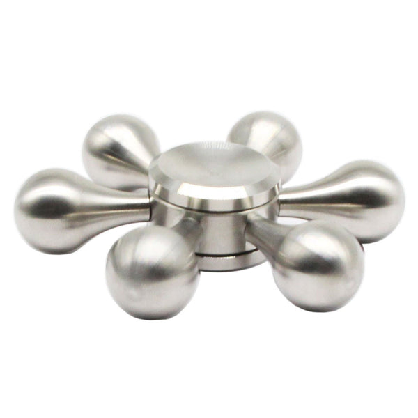 Molecule Fidget Spinner w/ 6-Node Hexagonal Detachable Arms