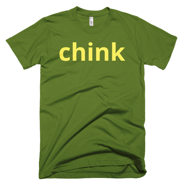 yellow chink t-shirt (dark colors)