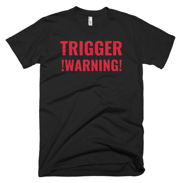 trigger warning t-shirt (mix colors)