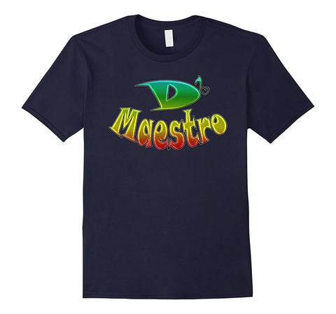 D' Maestro Music Family Group Band Note Design Tshirt