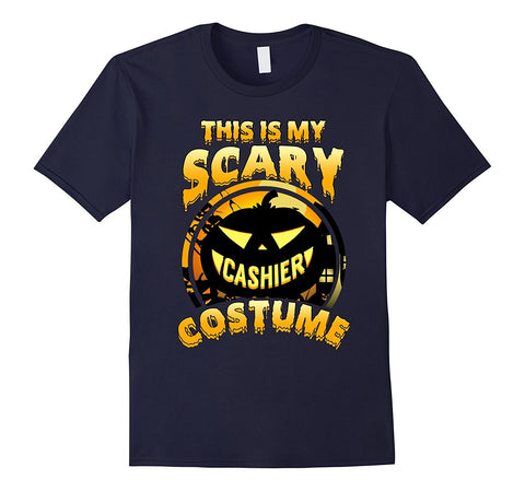 This Is My Scary Cashier Costume Halloween T Shirt