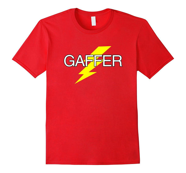 """Gaffer"" Electrician Juicer Film Production Business T Shirt"
