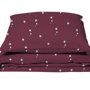 Adult Bedding Night Star Red