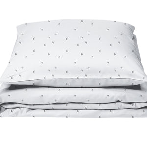Baby Bedding White Tree Dots