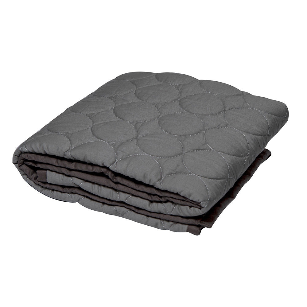 Baby Quilt Petrol Big Bold