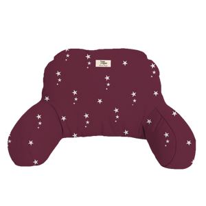 Pram Pillow Night Star Red