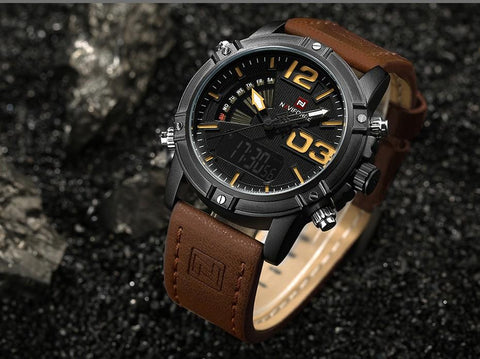 Luxury Waterproof Military Sports Watch for Men - DealOKart