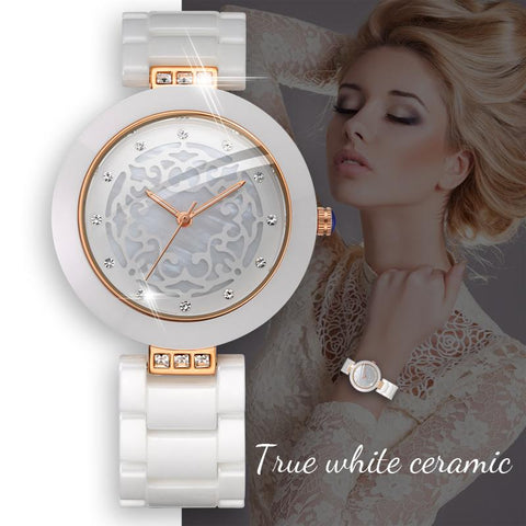 Elegant and Graceful Ceramic Watch for Women