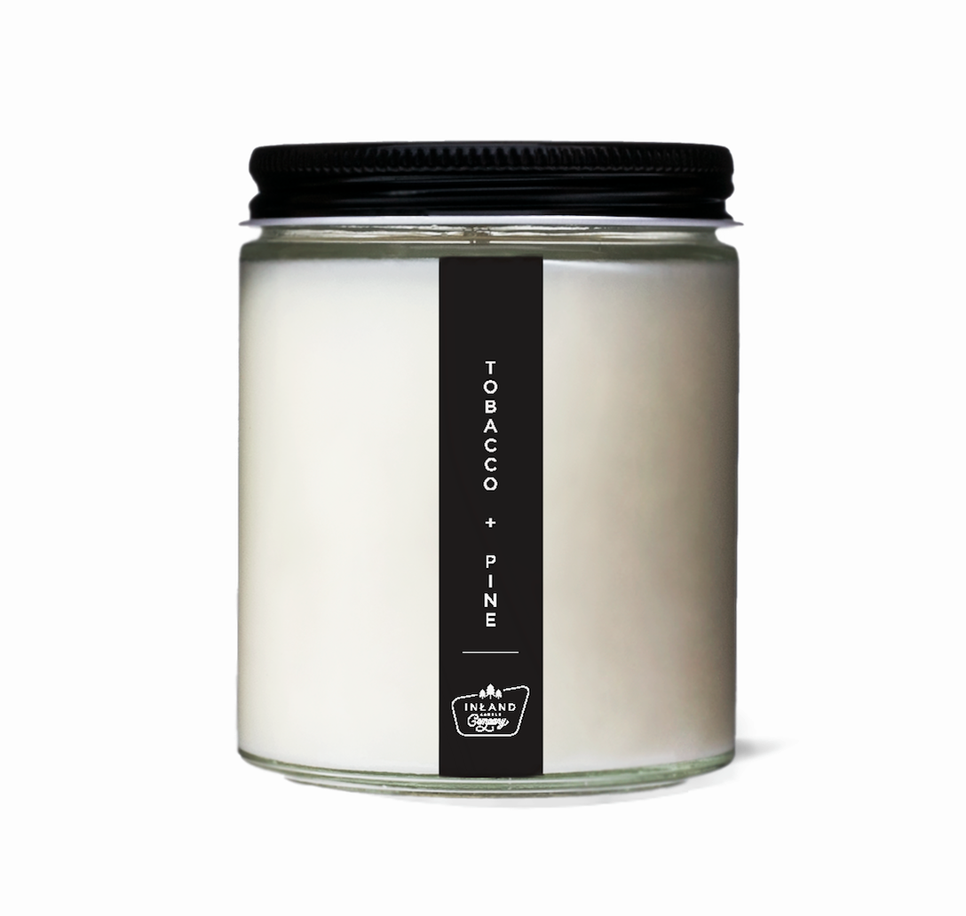 TOBACCO + PINE // 6 OZ SOY CANDLE