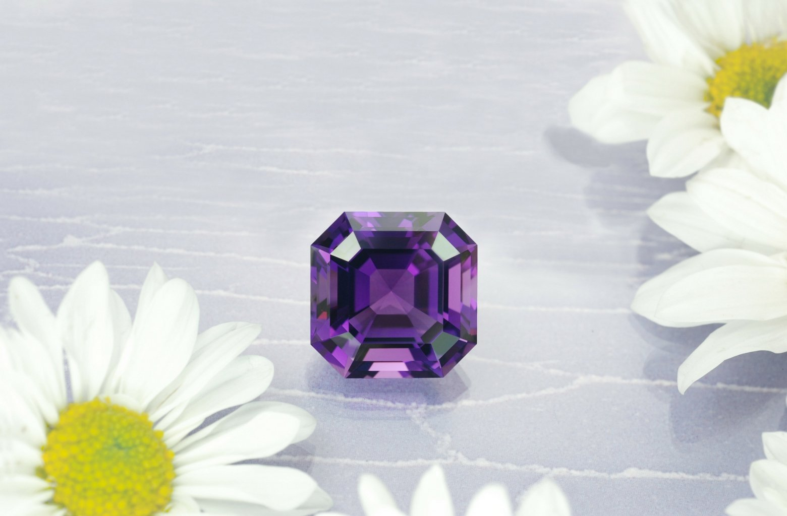 42 carat rich purple Amethyst from Brazil