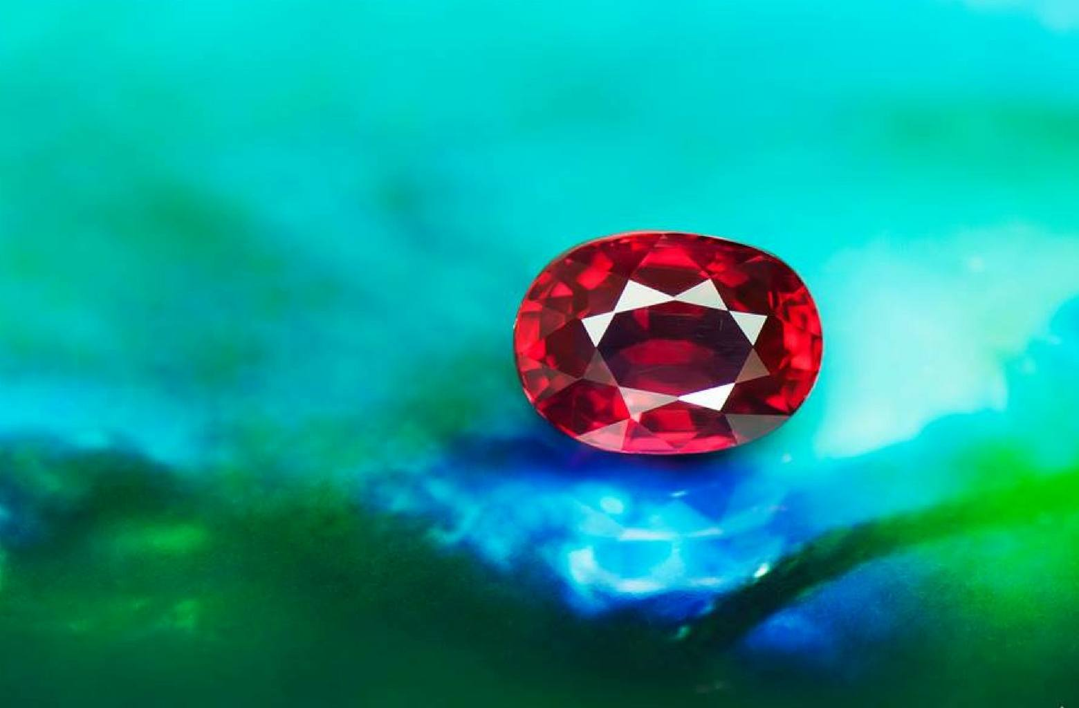 4 carat unheated red Ruby from Mozambique