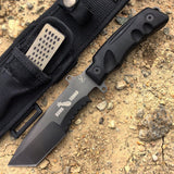"10 1/2"" Heavy Duty Hunting Knife Full Tang Stainless Steel"