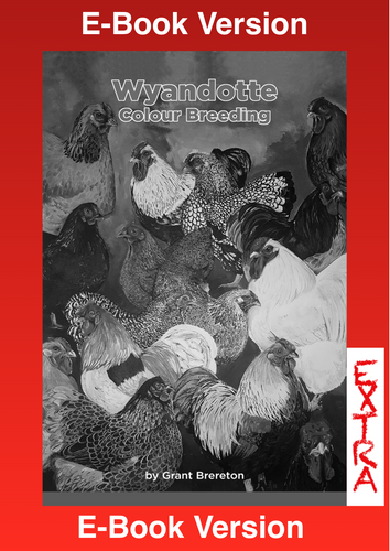 Wyandotte Colour Breeding 'EXTRA' E-Book