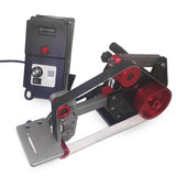 Fucina 1x30 Belt Grinder 110V/60Hz or 230V/50-60Hz 0.9Hp Servo Motor with VFD for Knife Making