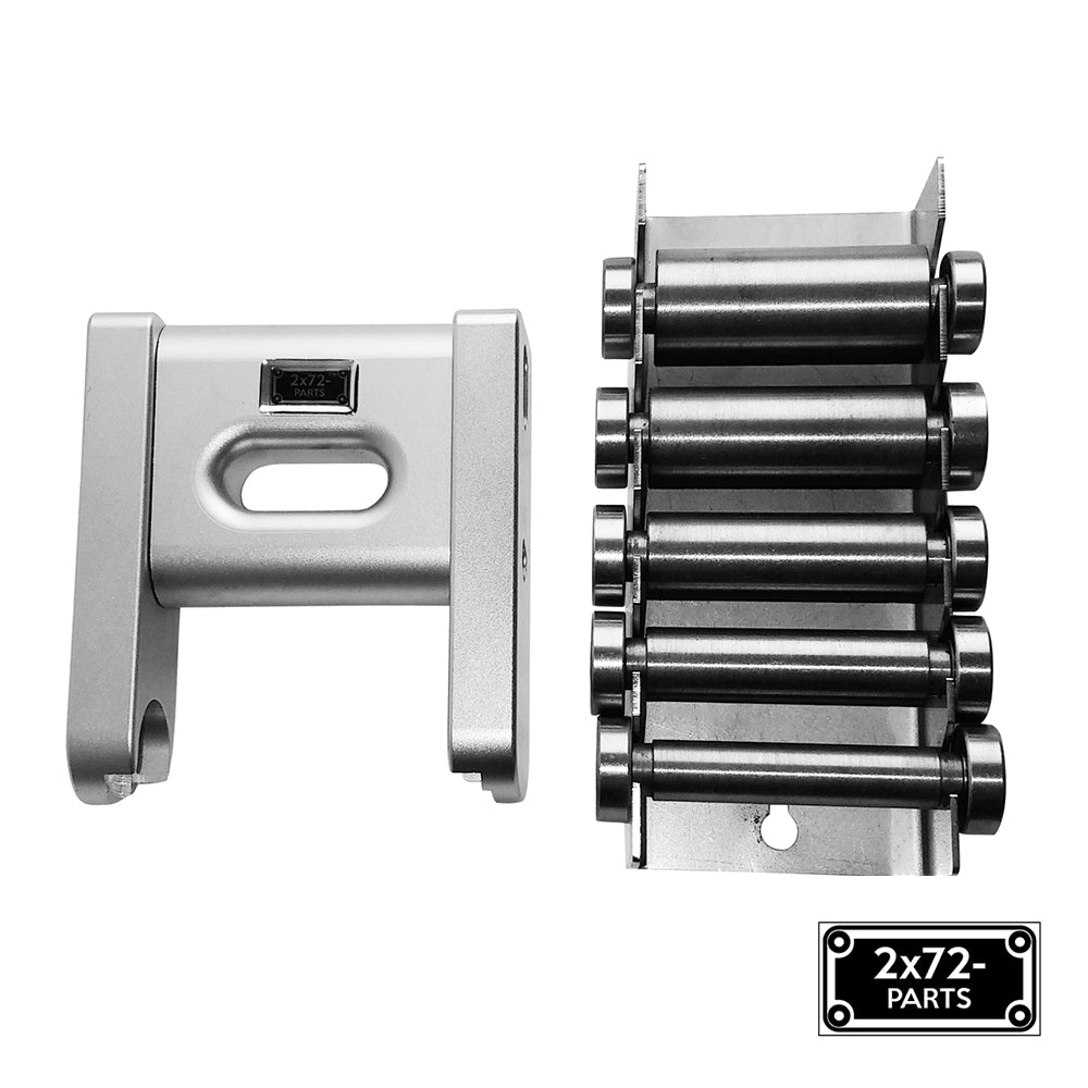 2x72 Belt Grinder Small Wheel Attachment with Holder and Storage Rack for knife Grinders