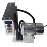 "2x72 Belt Grinder Motor 230V/50Hz 2.25Hp with VFD - 4"" Drive Wheel  & EU Plug"