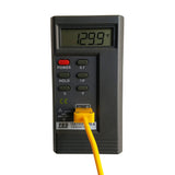 Gas Forge Kiln Digital Pyrometer Thermometer With K-TYPE Thermocouple Blacksmith Tool for
