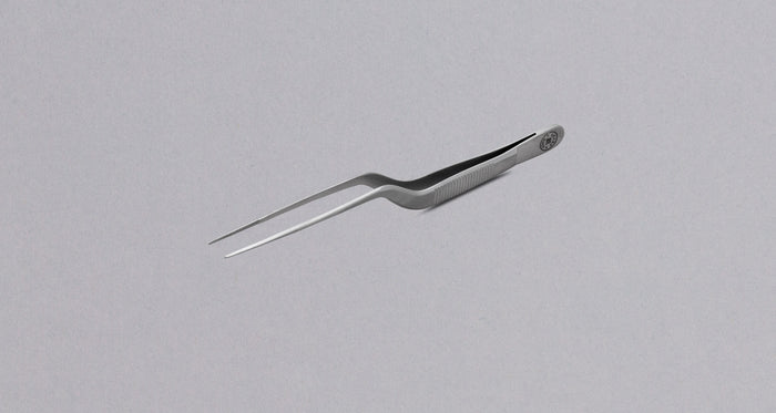 "Plating Tweezers SILVER - 140mm (5.5"")"
