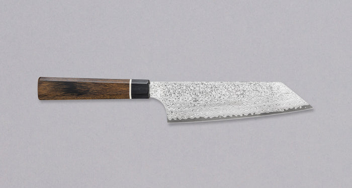 "Bunka Black Damascus 160mm (6.3"") [Saya Included]"