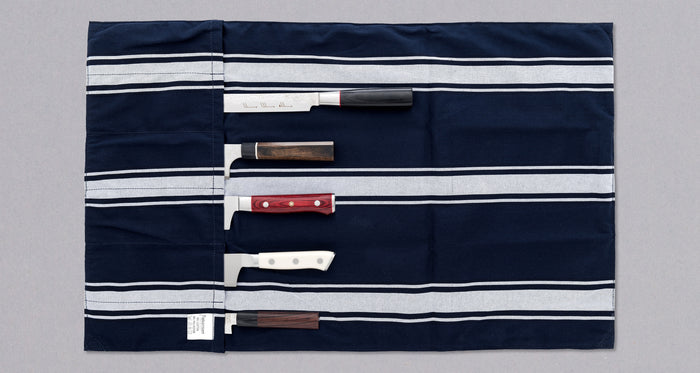 Cotton Knife Roll [6 knives]