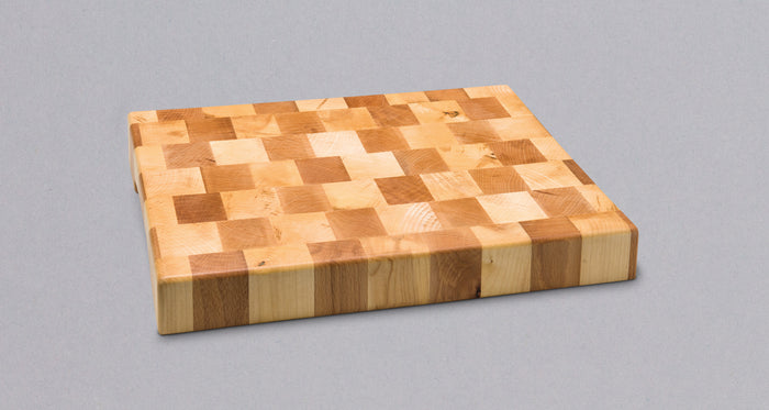 End Grain Cutting Board [maple & beech wood]