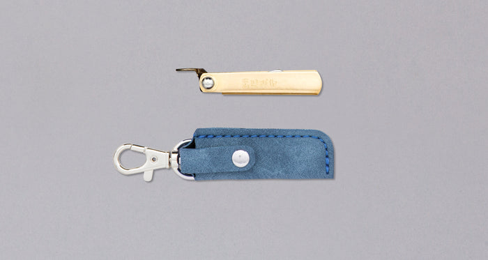 "Higonokami Small Pocket Knife BLUE 38mm (1.5"")"