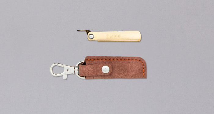 "Higonokami Small Pocket Knife BROWN 38mm (1.5"")"