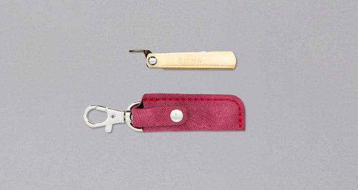 "Higonokami Small Pocket Knife RED 38mm (1.5"")"