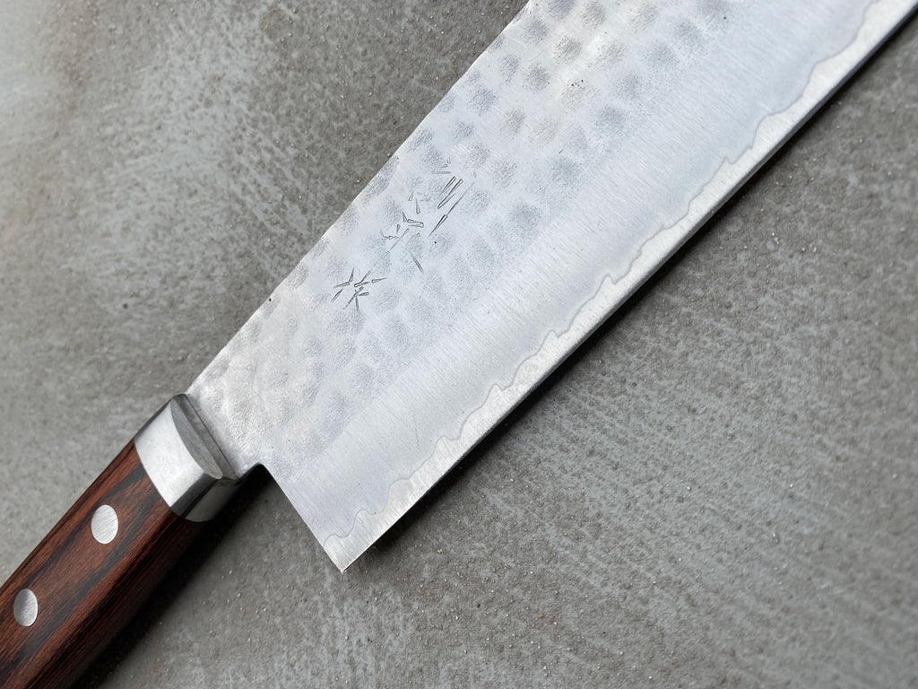 "Etsu Village Hammered Nakiri 165mm (6.5"")"