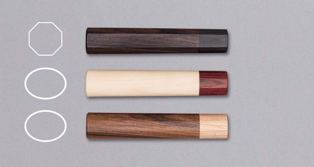Japanese handle - Rosewood [octagon]