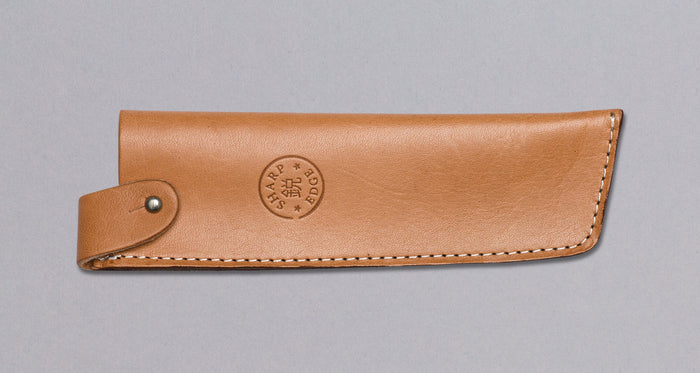 "Leather Saya Nakiri [knife sheath] - 180mm (7.1"")"