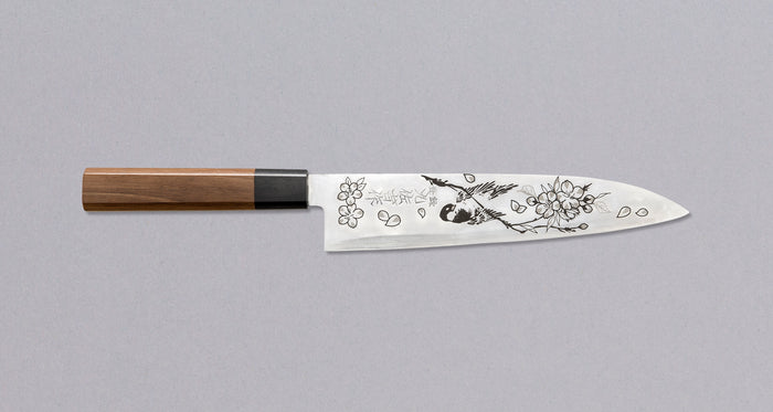 Sakura Engraving on the Blade [service]