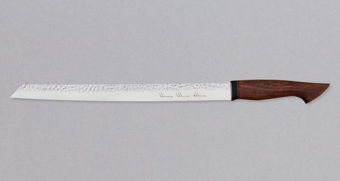 "Burja - Prosciutto Knife 300mm (11.8"") [Custom Bubinga handle]"