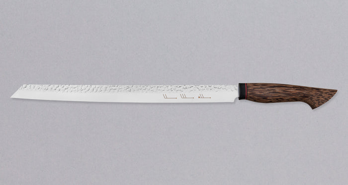 "Burja - Prosciutto Knife 300mm (11.8"") [Custom Black palm handle]"