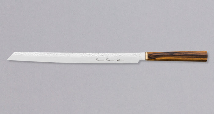 "Burja - Prosciutto Knife 300mm (11.8"") [Custom Olive handle]"