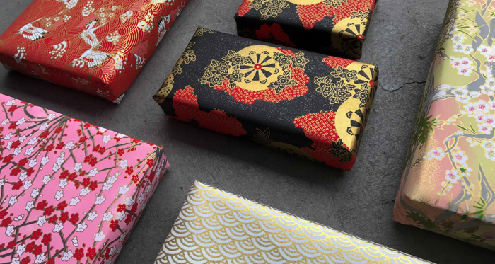 Japanese Gift wrapping [Washi paper]