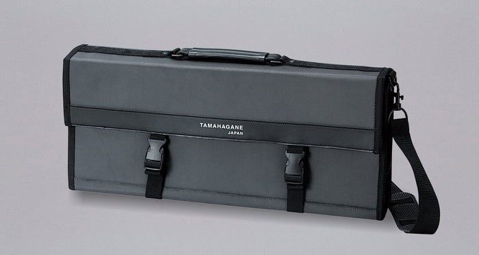 Tamahagane Chef's Knife Bag /  holds 17 knives