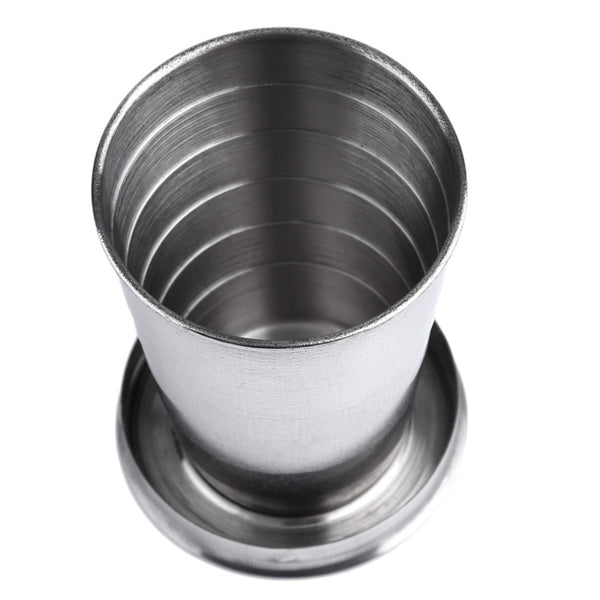 Stainless Steel Collapsible Cup - Eco Friendly | Living Zero