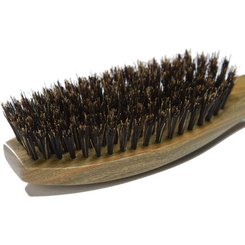 Hair Brush with Natural Wild Boar Bristles - Eco Friendly | Living Zero