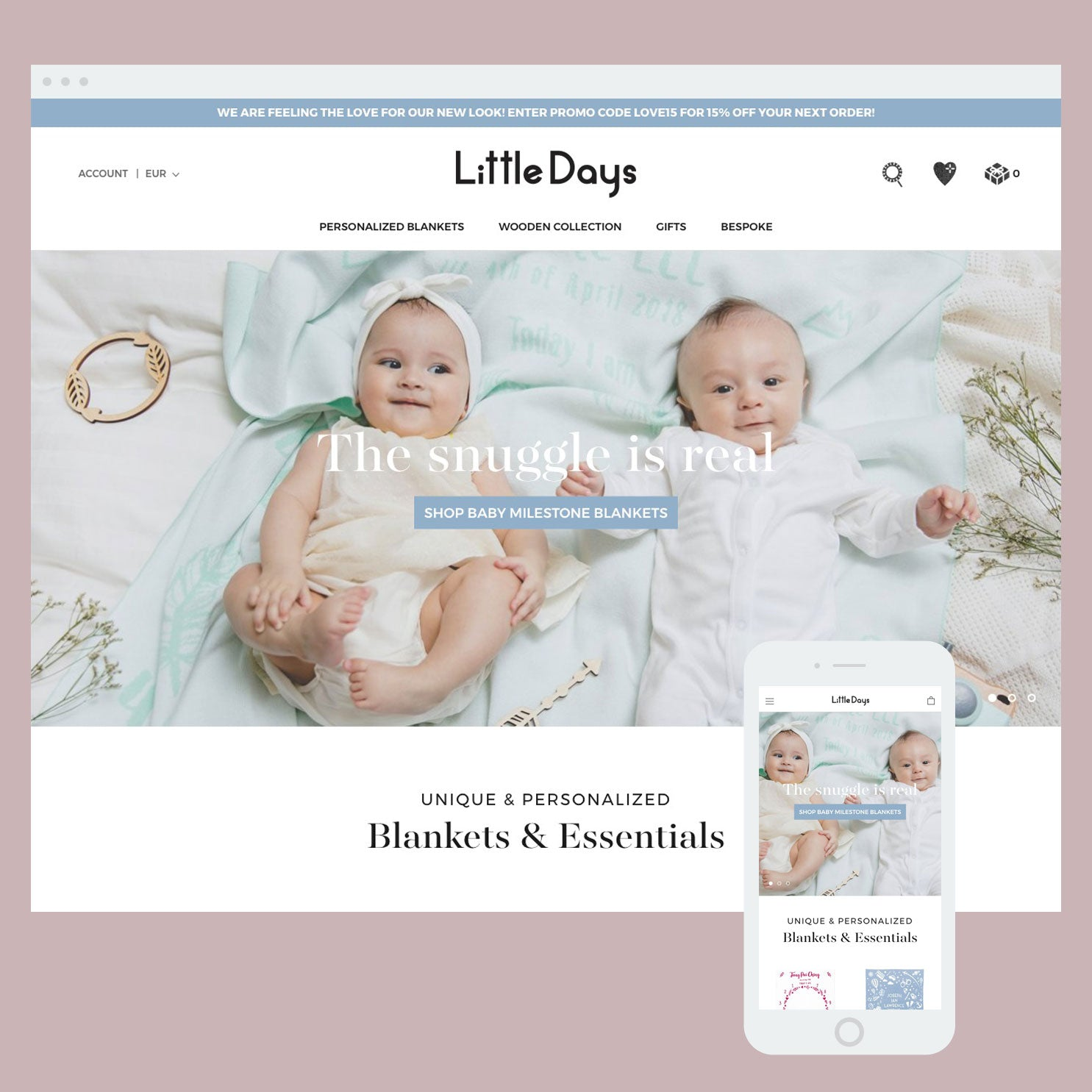 Little Days - Shopify store by Cooee Commerce