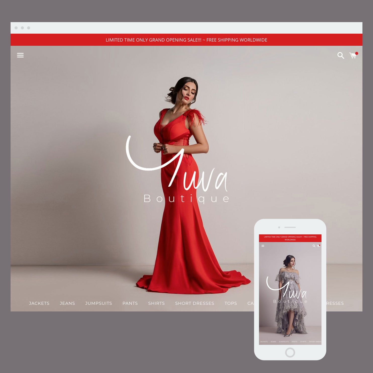 Yuva Boutique - Shopify store by Cooee Commerce
