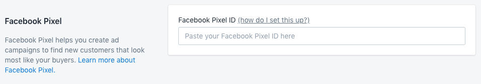 Setup Facebook Pixel in Shopify
