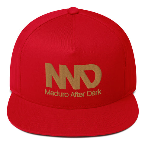 MAD - 3D Puff After Dark Flat Bill Cap